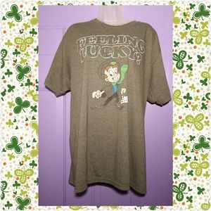 VINTAGE FEELING LUCKY? LUCKY CHARMS T-SHIRT-XL